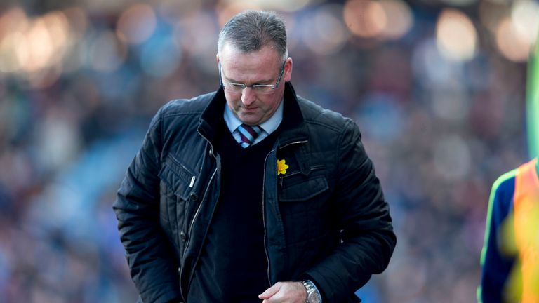 Paul Lambert: Proud of Aston Villa¿s performance but disappointed with scoreline