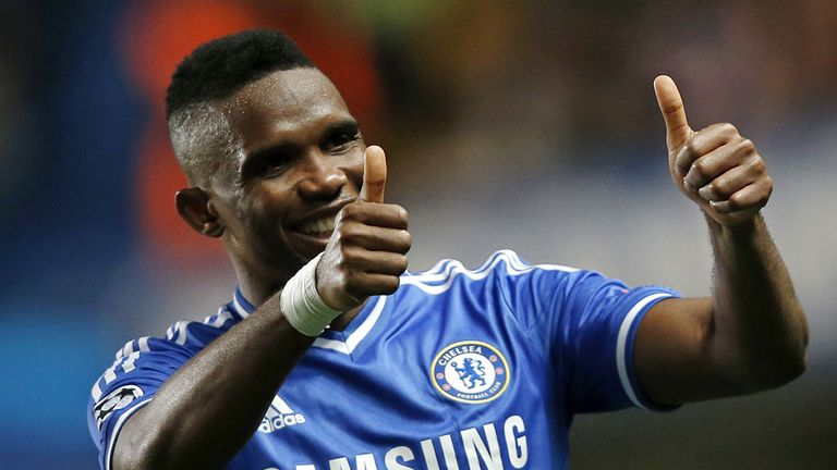 Samuel Eto'o: Available as a free agent after leaving Chelsea