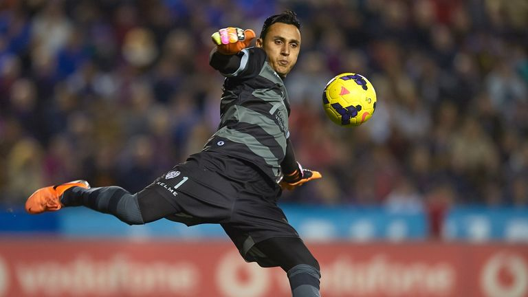 Keylor Navas: Impressing with Levante