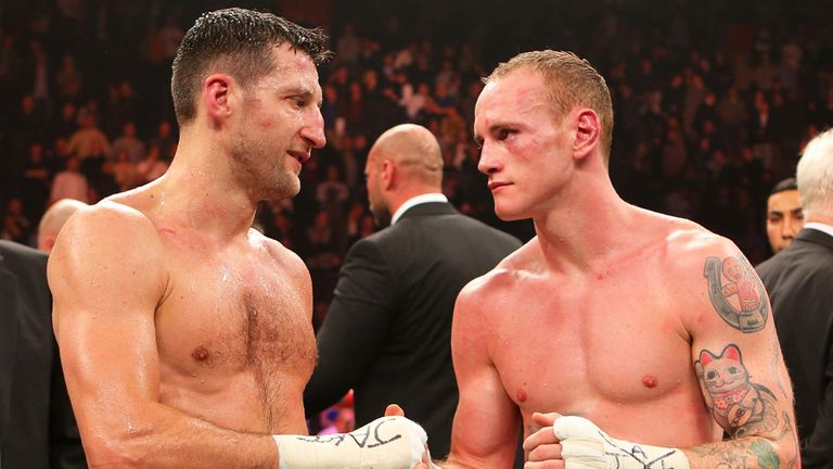 Carl Froch (l): Determined to clear up controversy in George Groves rematch