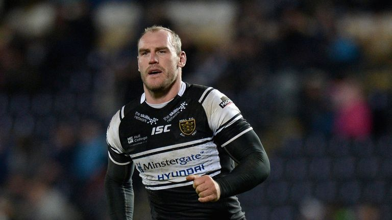Gareth Ellis: Targets a strong finish for Hull FC
