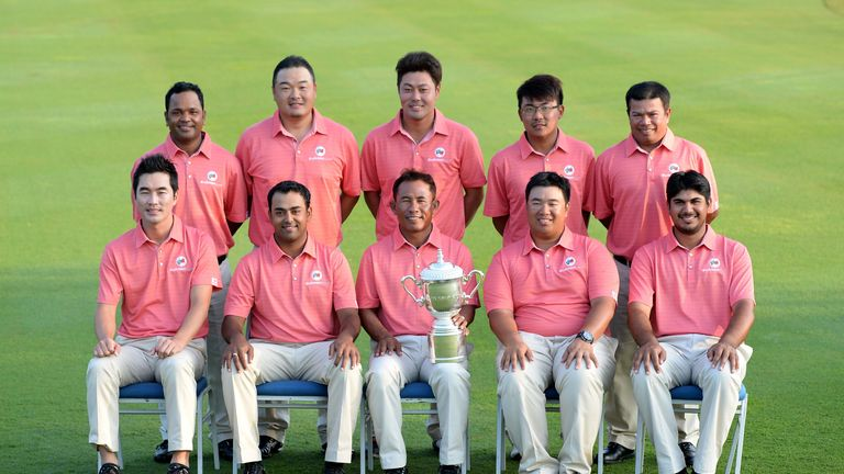 Skipper Thongchai Jaidee and Team Asia