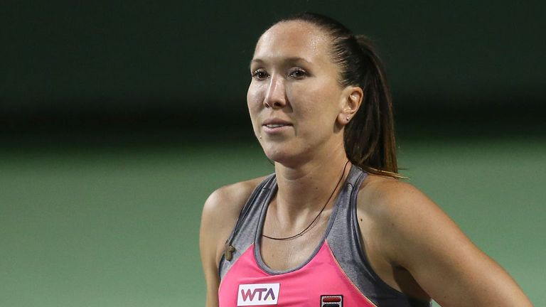 Jelena Jankovic: Will face Chanelle Scheepers in the last four in Colombia