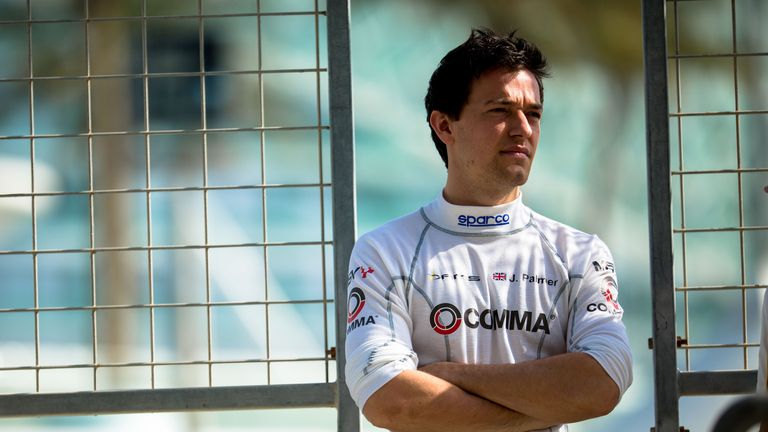 Jolyon Palmer: Championship leader heading to Silverstone