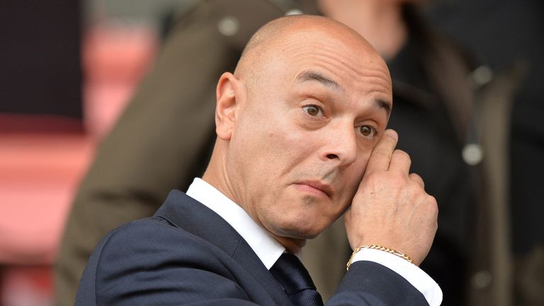 "Daniel Levy: The chairman has reaffirmed his commitment to making Tottenham ""even greater""."