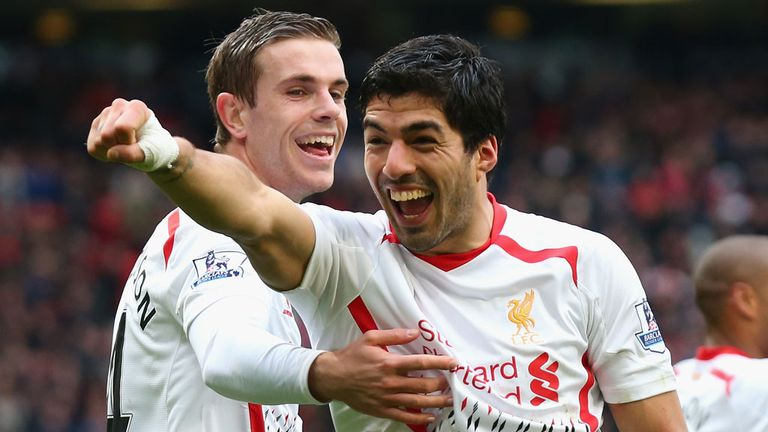 Liverpool: Claimed landmark win at Manchester United on Sunday