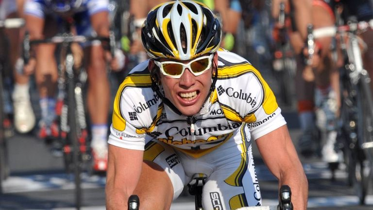 Cavendish won Milan-San Remo in 2009