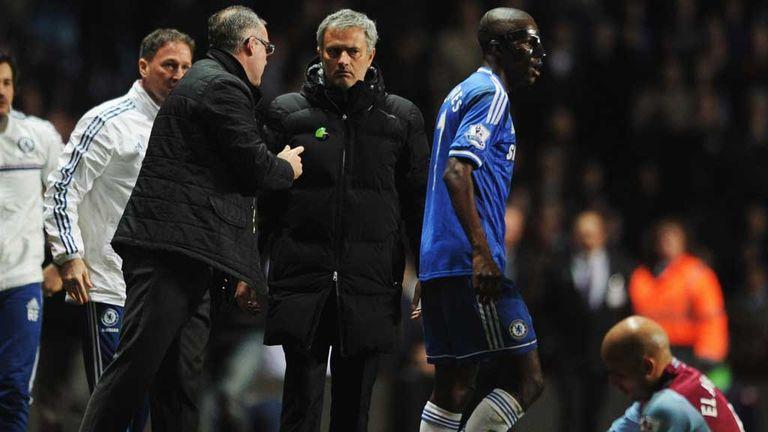 Jose Mourinho: Chelsea manager fumes at Villa Park