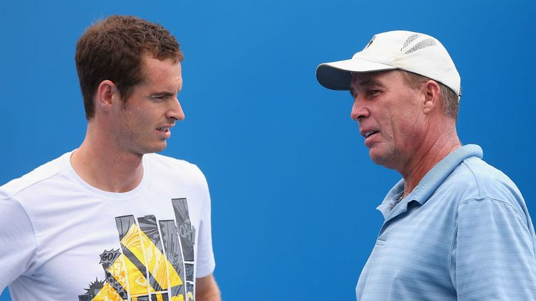 Andy Murray (left) won two Grand Slam titles with Ivan Lendl