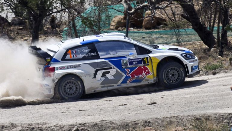 Sebastien Ogier: Firmly in control at Rally of Mexico