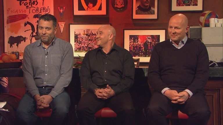 Guillem Balague, Terry Gibson, Graham Hunter on Revista de La Liga