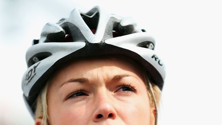 Lucy Garner: Has been laid low through illness since the Women's Tour