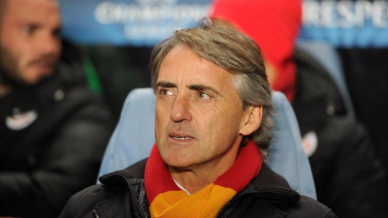 Roberto Mancini: Unhappy with Galatasaray's display against Chelsea