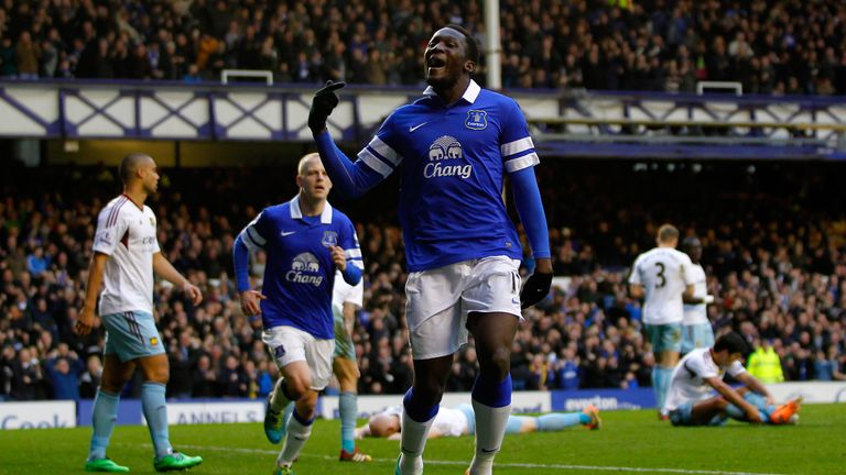 Romelu Lukaku: Striker has impressed during his loan spell at Everton