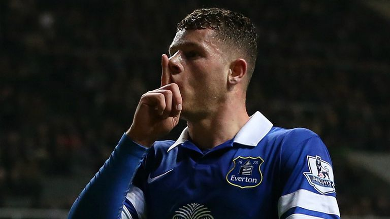 Ross Barkley: Everton midfielder is targeting a top-four finish