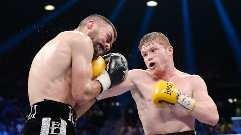 Saul Alvarez (R): Got himself back on track with dominant win over Alfredo Angulo