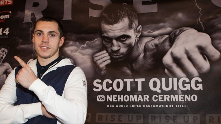 Scott Quigg: The world champion will top the bill in Manchester on April 19