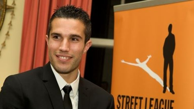 Street League ambassador Robin van Persie is supporting the project