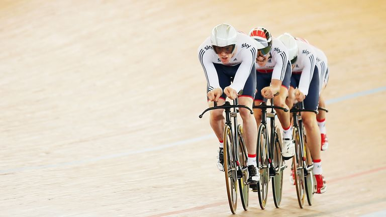 GB's team pursuit men will head to Paris next year