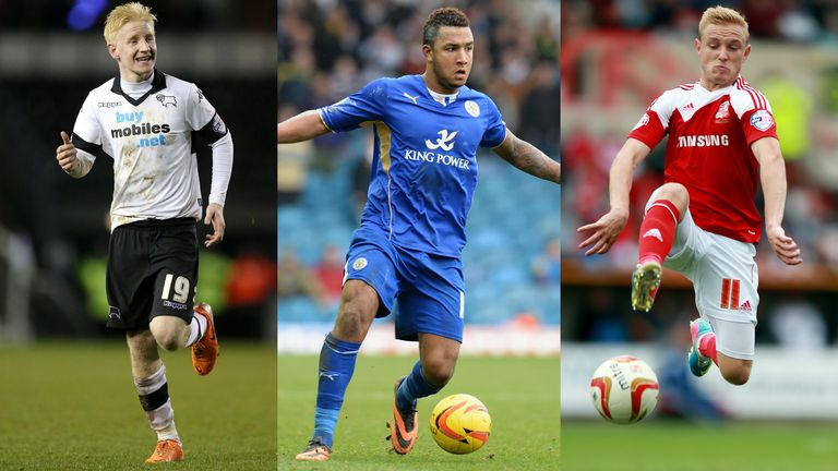 Will Hughes, Liam Moore and Alex Pritchard are in the frame to be Football League Young Player of the Year