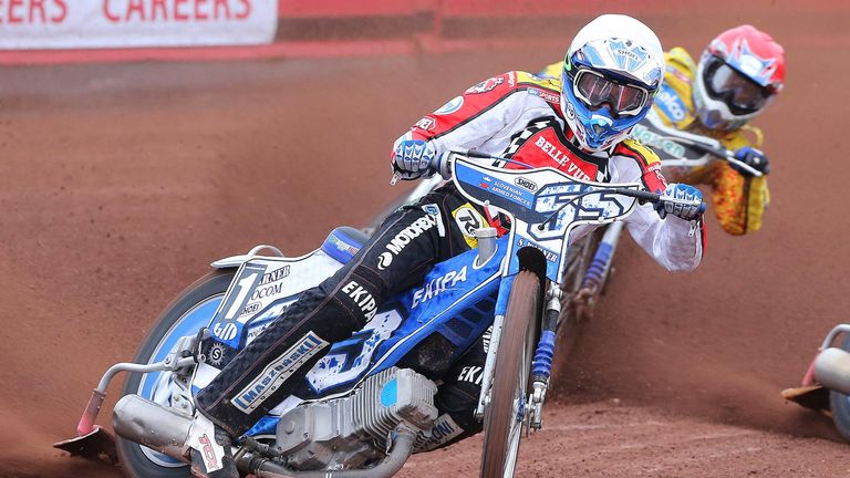 Matej Zagar: Grand Prix star back at Belle Vue Aces (Picture credit Jeff Davies)