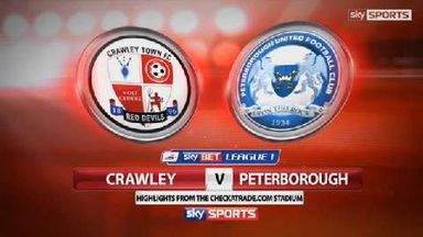 Crawley 1-0 Peterborough