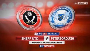 Sheffield Utd 2-0 Peterborough