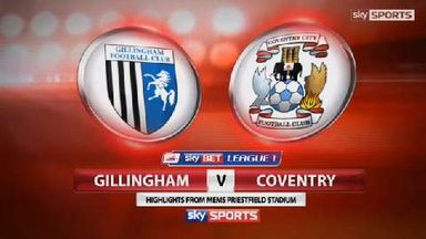 Gillingham 4-2 Coventry