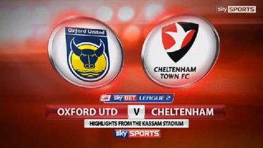 Oxford 1-1 Cheltenham