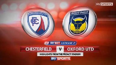 Chesterfield 3-0 Oxford United