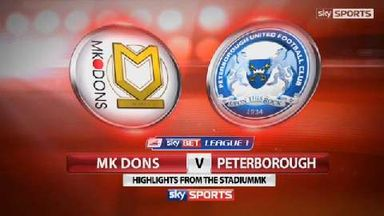 Milton Keynes Dons 0-2 Peterborough United