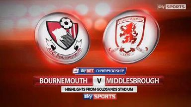 AFC Bournemouth 0-0 Middlesbrough