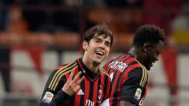 Kaka: May be offered the opportunity to head home this summer