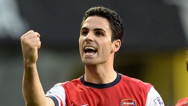 Mikel Arteta: Admits it is hard to switch off