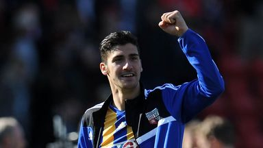 Marcello Trotta: The Fulham striker has scored 22 goals over two loan spells with Brentford