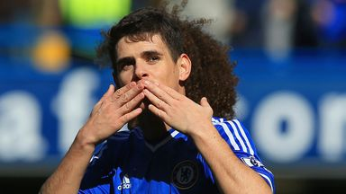 Oscar: Enjoying his time at Stamford Bridge