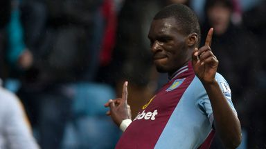 Christian Benteke: Scores twice as Aston Villa come from behind to beat Norwich