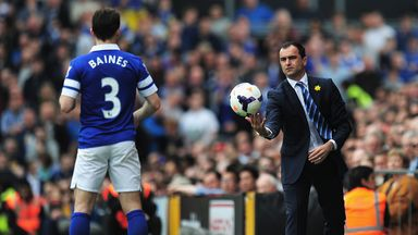 Leighton Baines: Tipped to make the move into midfield at some point