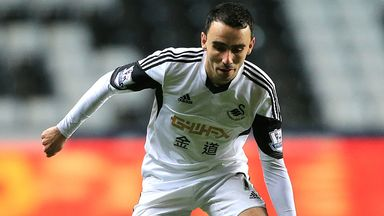 Leon Britton: Delighted that Swansea finally got the luck to grab a point at Arsenal