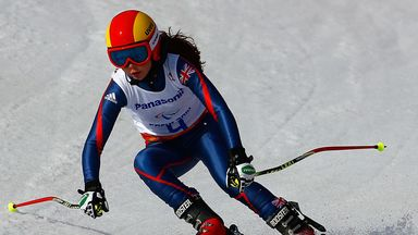 Jade Etherington: Silver in Sochi for British skier