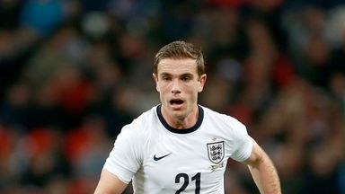 Jordan Henderson: Hoping to make England's World Cup squad