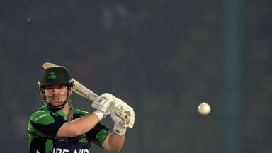 Paul Stirling: Ireland opener hit 60 off 34 balls