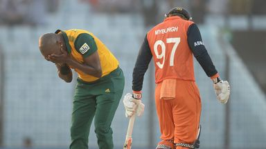 Tsotsobe (left) played for South Africa in the recent World T20
