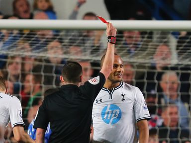 Younes Kaboul: Was sent off against Chelsea