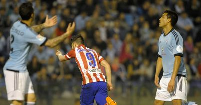 Atletico top after Villa brace