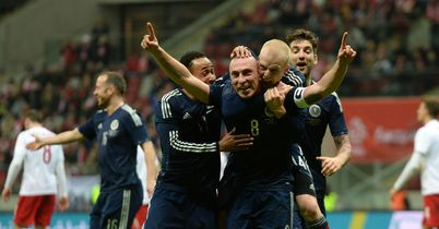 Brown sees Scots to Poland win
