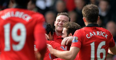 Wayne Rooney: On target again for Manchester United