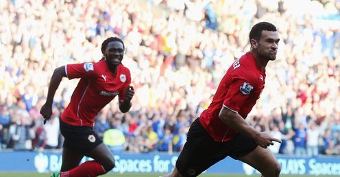 Steven Caulker: Scored twice in Cardiff win