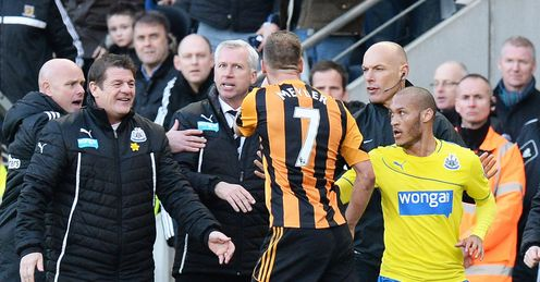 Alan Pardew: Will have instantly regretted his actions