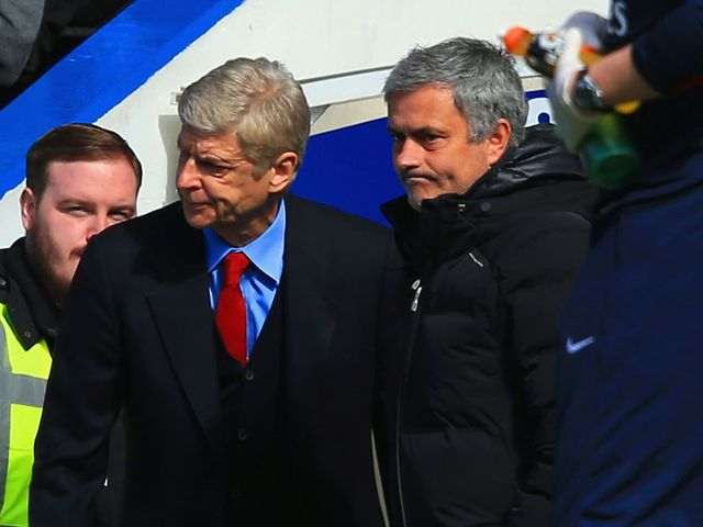 A mixed day for Wenger and Mourinho